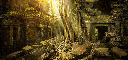 Lost City guided meditation - For inner vision